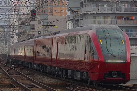 2020.2.8 近鉄大阪線 今里-鶴橋 ひのとり試乗会列車1.JPG