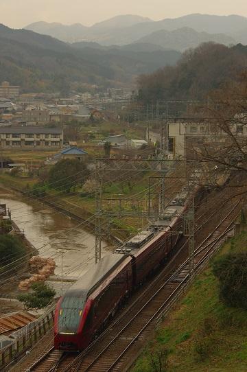 2020.2.8 近鉄大阪線 大和朝倉-桜井 ひのとり試運転1.JPG